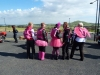 Pink Ribbon Ride 2015 - Jo Rider chicks before the start